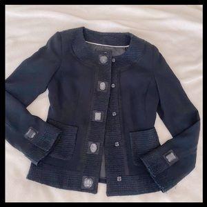 White House Black Market Detailed Jacket Size 00